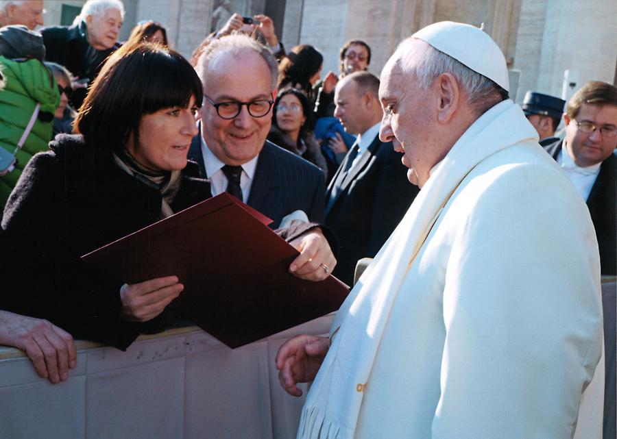 Un esperienza unica - incontro con Papa Francesco_PO