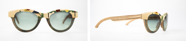 Catuma: Il design incontra l'artigianalità, l'arte e i materiali naturali in una linea esclusiva di occhiali all'avanguardia stilistica e tecnica
