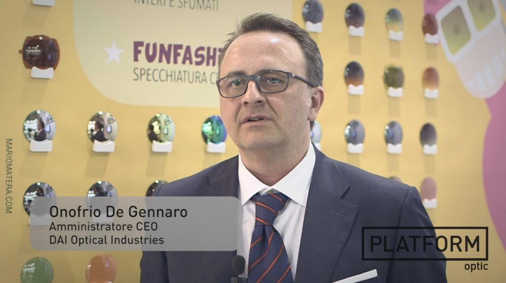 PLATFORM TV: DAI Optical Industries – Onofrio De Gennaro – Mido 2015