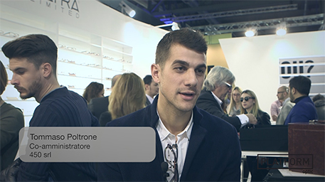 PLATFORM TV: 450 srl – Tommaso Poltrone – Mido 2016