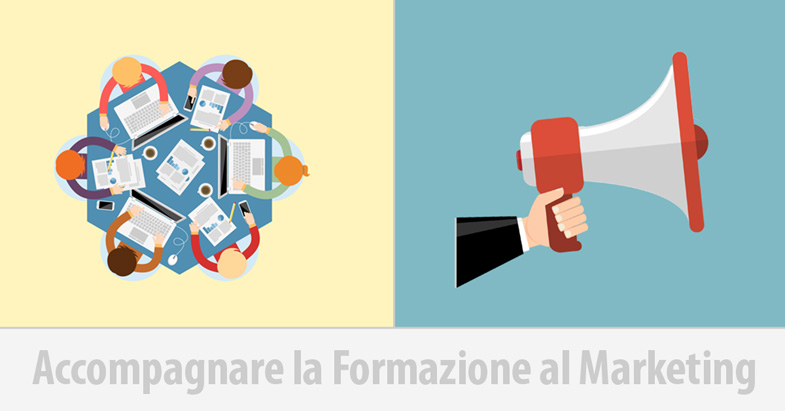 Accompagnare la formazione al marketing