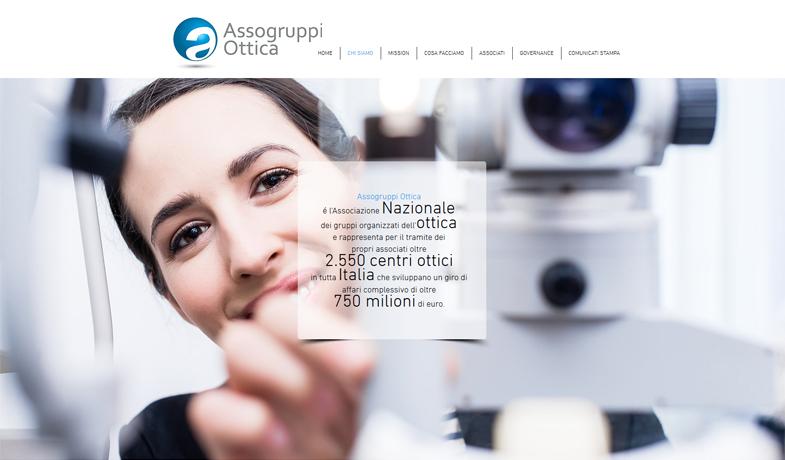 Restyling del marchio e nuovo sito Internet per Assogruppi Ottica