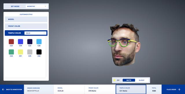 Thema Optical e GreenVision insieme per V.E.A. Virtual Eyewear Assistant