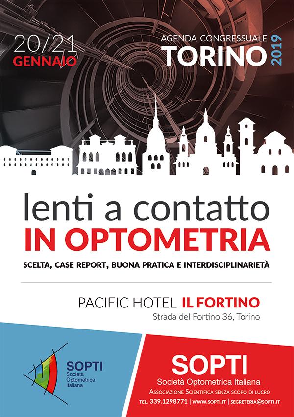 """Aggiornamento SOPTI """"Lenti a contatto in optometria"""" – 20-21 Gennaio 2019 – Torino"""
