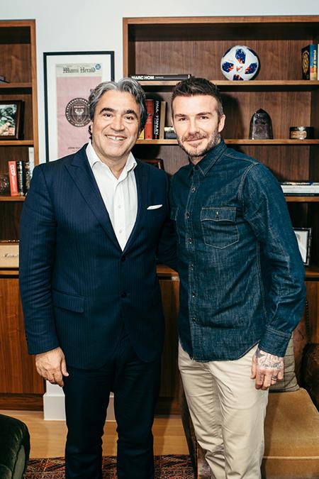 Safilo e David Beckham: accordo decennale di licenza eyewear