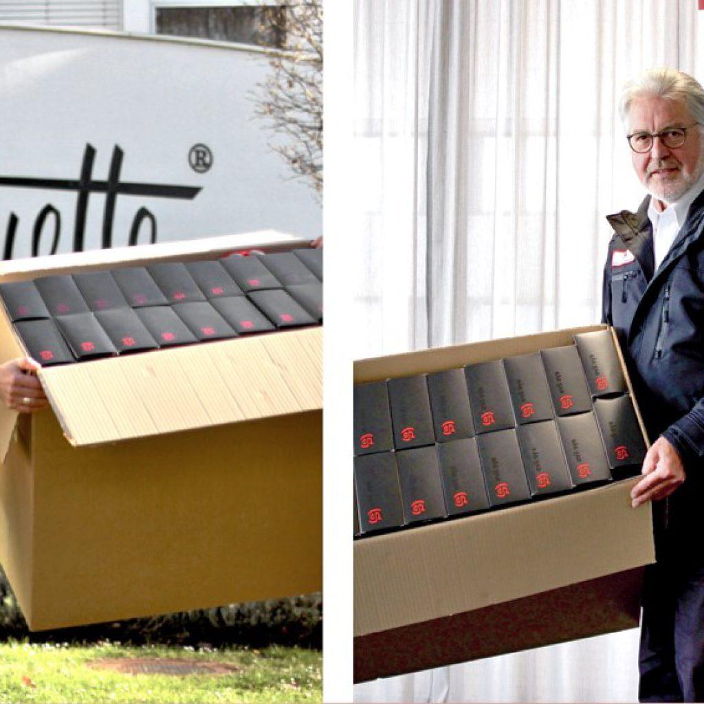 Silhouette International dona 20.000 paia di occhiali alla Croce Rossa
