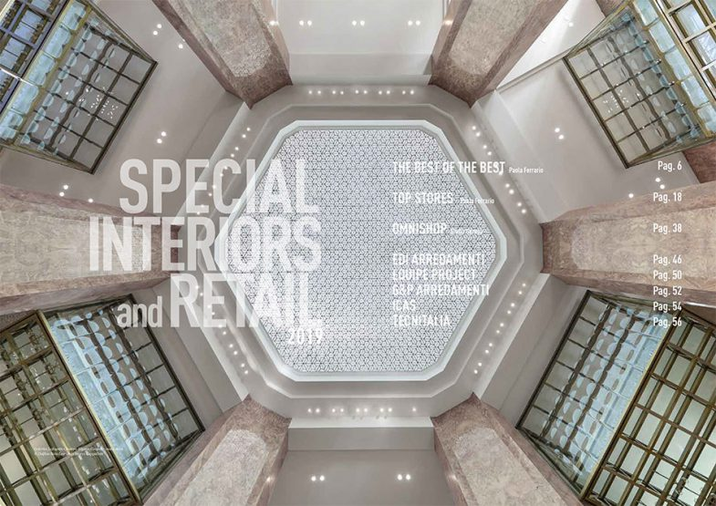 Speciale Interiors and Retail – P.O. PLATFORM Optic luglio 2019
