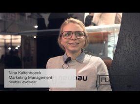 PLATFORM TV: neubau eyewear – Nina Kaltenboeck – Mido 2017
